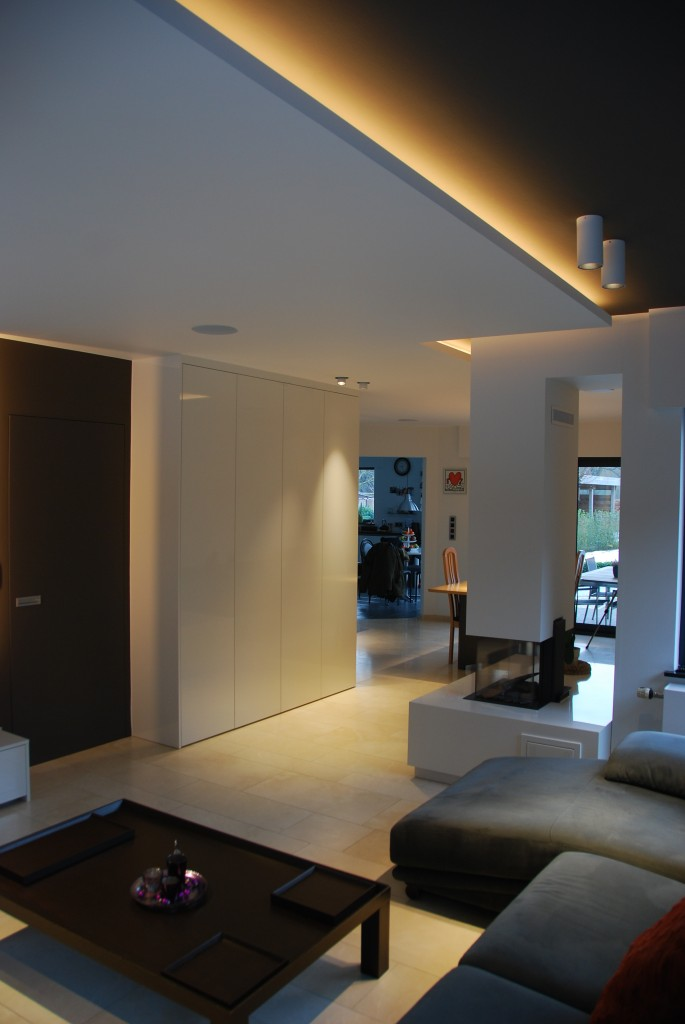 Project indirecte en directe led verlichting e r p for Led verlichting interieur